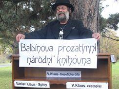 Balbínova prozatimní národní knihovna na Letné