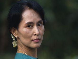 Barmská disidentka Do Aun Schan Su Ťij