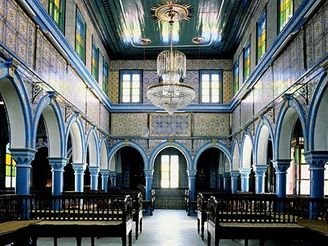 Djerba - synagoga Ghriba