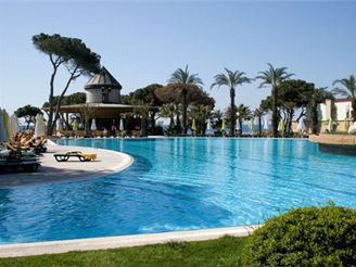hotelový komplex, Turecko