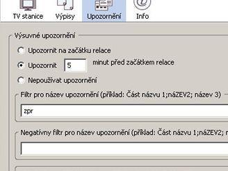 TV program ve Firefoxu