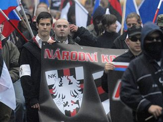 Pravicoví extremisté pochodovali i Ostravou