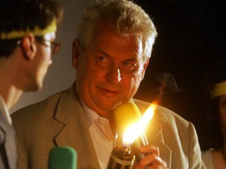 Miloš Zeman v Jihlavě