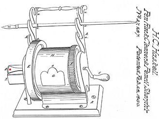 Ořezávátko z roku 1860