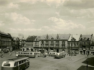 Starý Most, Radnice - 50.léta 20.století