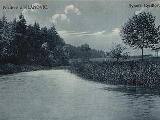 Klánovice, 1910