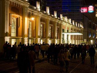 Slavnostn� otev�en� n�kupn�ho centra Palladium.