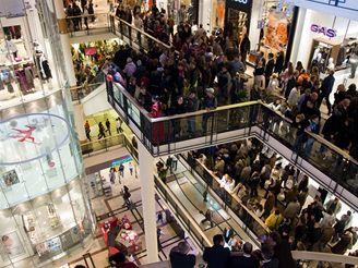 Slavnostní otevření nákupního centra Palladium.