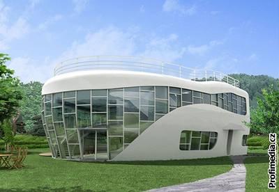 Dům ve tvaru toalety