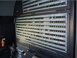 Zadní stěna pilotní kabiny v Airbusu A-319CJ