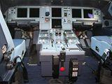 Pilotní kabina v Airbusu A-319CJ