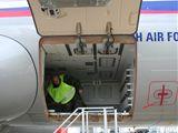 Nákladový prostor v Airbusu A-319CJ