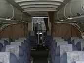 Uvnitř zhasnutého Airbusu A-319CJ ve verzi medevac