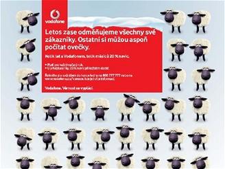 Ovečky Vodafone
