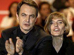 Španělský premiér Zapatero se ženou