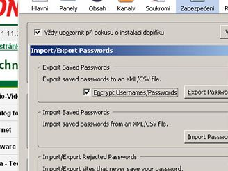 Firefox Password Exporter