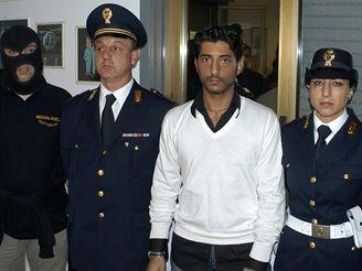 Policisté zadrželi syna Salvatora Lo Piccola Alessandra