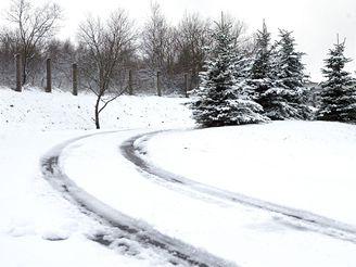 První sníh na hoře Sv.Kateřiny (9.11.2007)