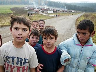 Slovensko, romská osada Letanovce
