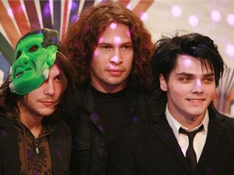předávání MTV Europe Music Awards - My Chemical Romance