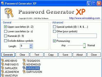Password Generator XP 1.26