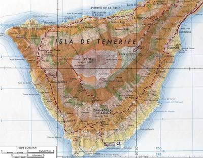 Tenerife - mapa