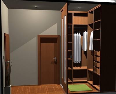 Ložnice, dětský pokoj a šatna ve 2+kk