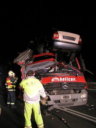 nehoda na D5, (5.11. 2007)