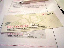 Recyklístek - získejte 200 Kč za odevzdání mobilu k recyklaci