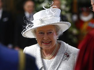 Diamantová svatba britské královny Alžběty II.