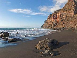 ostrov La Gomera, Kanárské ostrovy - Los Cancajos - Valle Gran Rey -