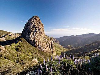 ostrov La Gomera, Kanárské ostrovy - národní park Garajonay