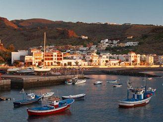 ostrov La Gomera, Kanárské ostrovy - Playa de Santiago