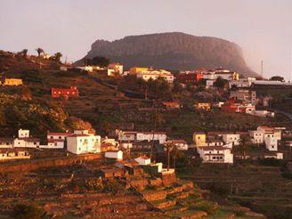 ostrov La Gomera, Kanárské ostrovy - Chipude