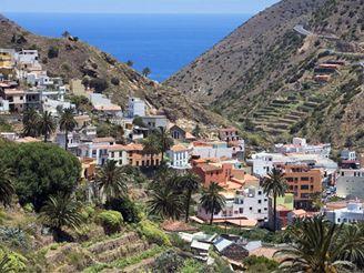 La Gomera, Kanárské ostrovy - Vallehermoso