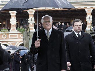 Pohřeb Michala Rabase