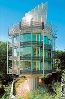 Rotující dům - architekt Rolf Disch