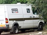 loupež století, Evropská, ukradený vůz bezpečnostní služby