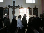 Pohřeb Petra Haničince