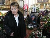 Pohřeb Petra Haničince - Jiřina Bohdalová