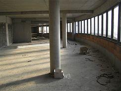 Místo budoucích administrativních prostor