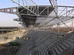 Jižní a východní tribuna