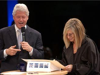 Bill Clinton a Barbra Streisandová