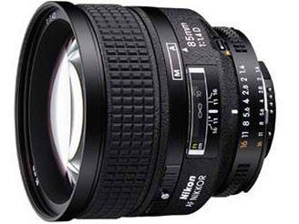 Nikon Nikkor 85 mm f/1,4 D AF