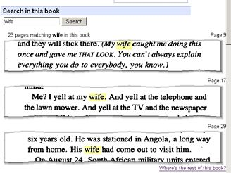 Google Books - úryvky