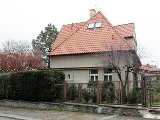 Vokovická vila, ve které bydlí Pavel Bém
