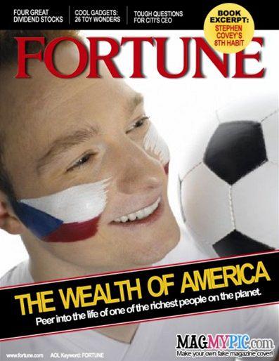 Čech ve Fortune