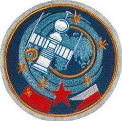Znak československo-sovětské expedice na Sojuzu 28