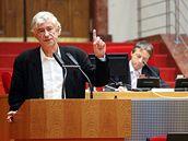 Architekt Kaplický obhajoval svou knihovnu před pražskými zastupiteli
