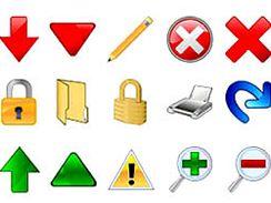 Vista Toolbar Icon Collections